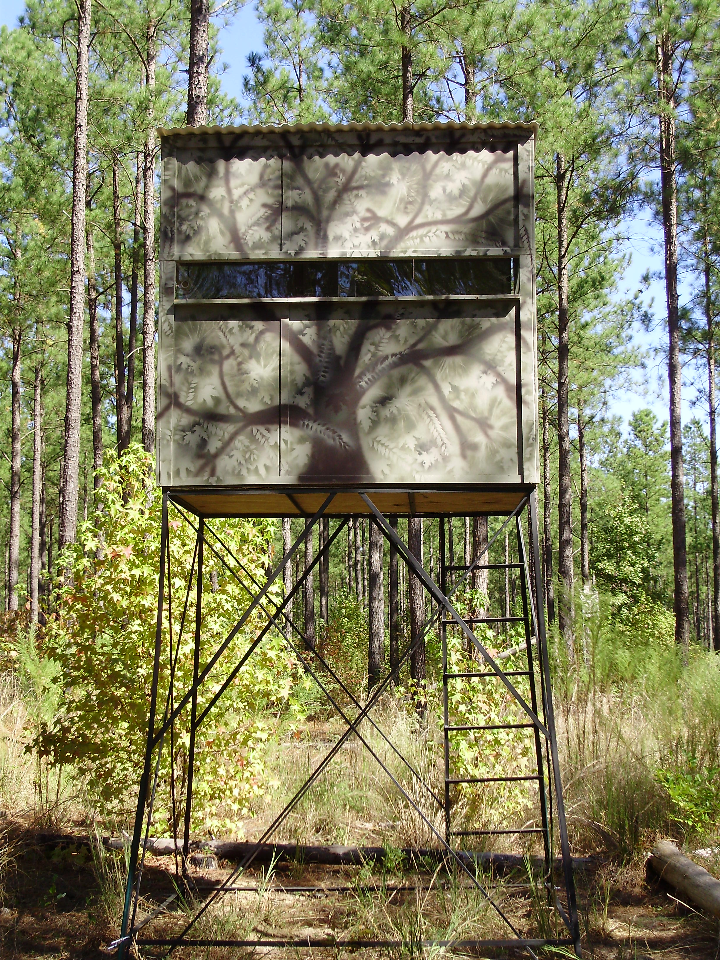 301 moved permanently for Wood deer blinds