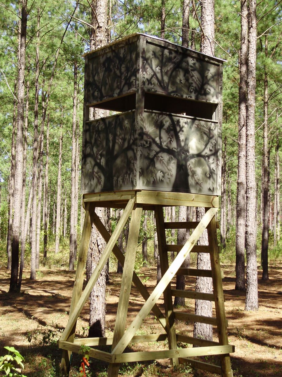 Wood Deer Stands Wooden Plans wood fired pizza oven plans diy