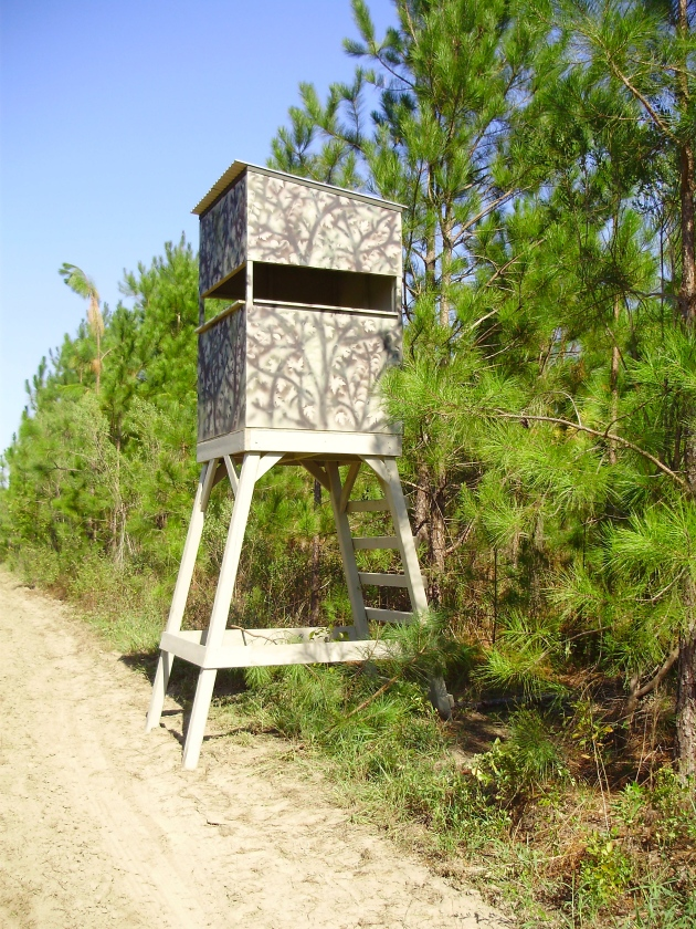 Diy wood deer stand plans wooden pdf woodworking plans 4 for Diy deer stand plans